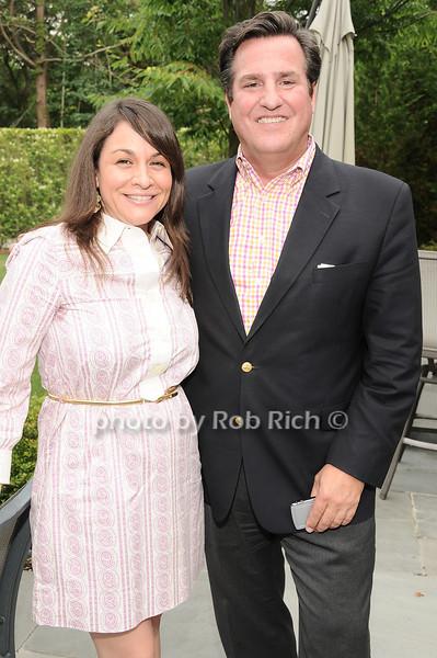 Kristie Hoffman, Rick Hoffman<br /> <br /> photo by Rob Rich © 2010 robwayne1@aol.com 516-676-3939