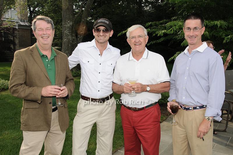 Tom Griffith, Josh Horton, Bob Murray, Peter McCracken<br /> <br /> photo by Rob Rich © 2010 robwayne1@aol.com 516-676-3939
