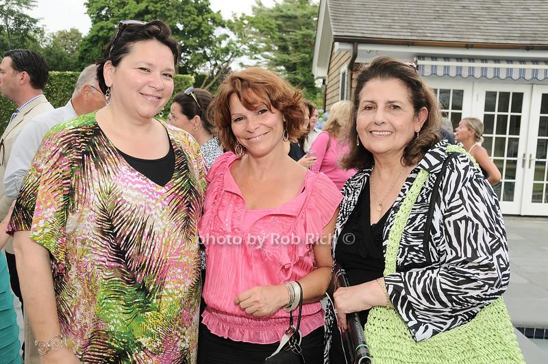 Eleanor Kobel, Cherryl Fender, Antoinette Imperioli<br /> <br /> photo by Rob Rich © 2010 robwayne1@aol.com 516-676-3939