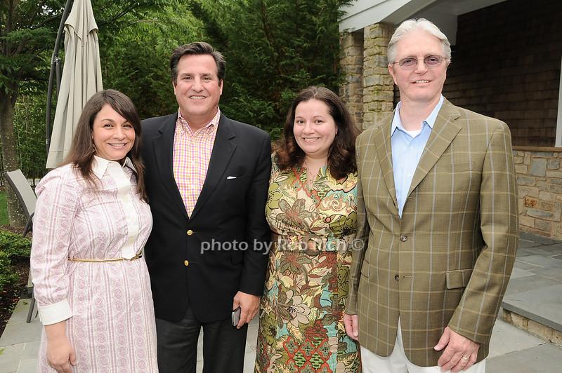 Kristie Hoffman, Rick Hoffman,Marty Gleason, Ida Fields<br /> <br /> photo by Rob Rich © 2010 robwayne1@aol.com 516-676-3939