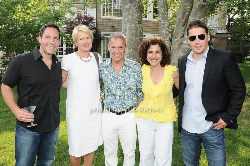 Joe De Sane, Elizabeth Mills, Ernie Cervi, Marlene O'Halloran, Matt Breitenbach<br /> <br /> photo by Rob Rich © 2010 robwayne1@aol.com 516-676-3939
