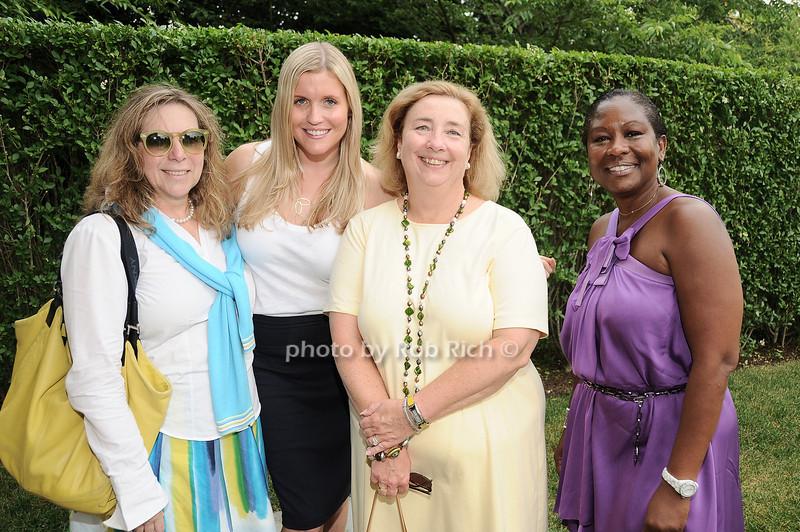 Arlene Reckson, Erin  Kenealley, Vicky Thompson, Claudette Dixon<br /> <br /> photo by Rob Rich © 2010 robwayne1@aol.com 516-676-3939