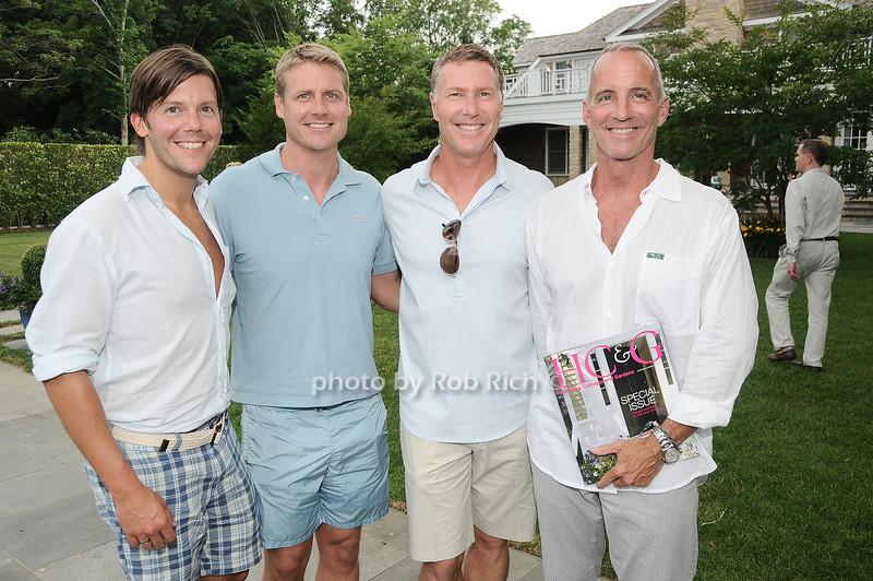 John Bjornen, Adam Leskinen, Jack Pearson, Cee Brown<br /> <br /> photo by Rob Rich © 2010 robwayne1@aol.com 516-676-3939