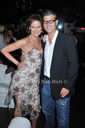 Elizabeth Fekkai, Frank Cilione<br /> photo by Rob Rich © 2010 robwayne1@aol.com 516-676-3939