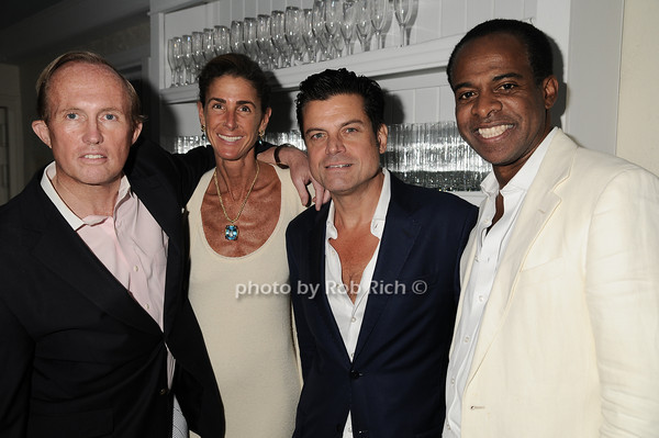 Mark Gilbert, Somers Farkas, Douglas Hannant, Frederick Douglas<br />  photo by Rob Rich © 2010 robwayne1@aol.com 516-676-3939