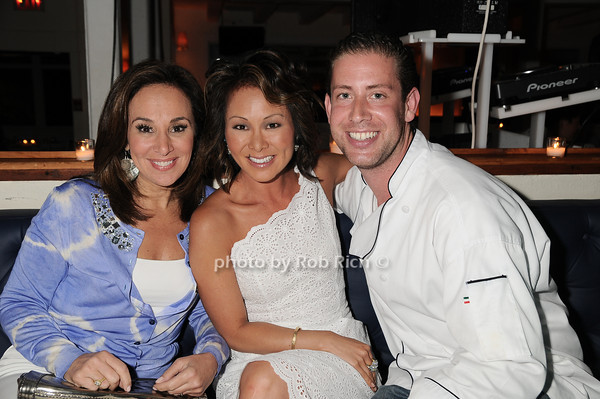 Rosanna Scotto, Alina Cho, chef<br />  photo by Rob Rich © 2010 robwayne1@aol.com 516-676-3939