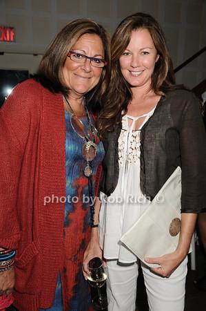 Fern Mallis, Sue Devitt<br />  photo by Rob Rich © 2010 robwayne1@aol.com 516-676-3939
