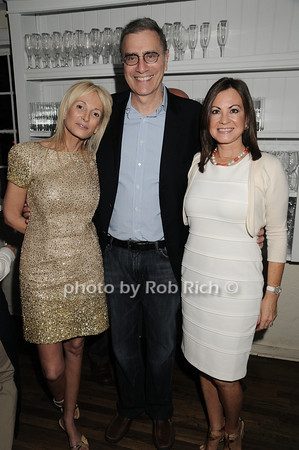 Pamela Gross, James Finkelstein, Judy Guiliani<br />  photo by Rob Rich © 2010 robwayne1@aol.com 516-676-3939