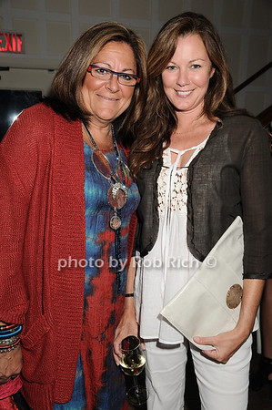 Fern Mallis, Sue Devitt<br />  photo by Rob Rich © 2010 robwayne1@aol.com 516-676-3939