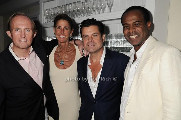 Mark Gilbert, Somers Farkas, Douglas Hannant, Frederick Douglas<br />  photo by Rob Rich © 2010 robwayne1@aol.com 516-676-3939