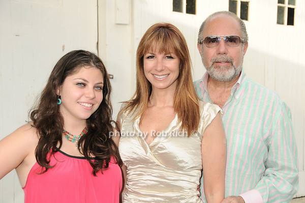 Ali Zarin, Jill Zarin, Bobby Zarin<br /> at the Hamptons Magazine Cover Party for Beth Ostosky at Savannah Restaurant in Southampton on July 9, 2010.<br /> photo by Rob Rich/SocietyAllure.com