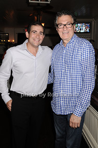 Arthur Backal, Tony Fortuna at the Hamptons Magazine Cover Party for Beth Ostosky at Savannah Restaurant in Southampton on July 9, 2010. photo by Rob Rich/SocietyAllure.com