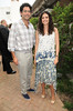 Keith Bloomfield, Katie Lee Joel<br /> at the Hamptons Magazine Cover Party for Beth Ostosky at Savannah Restaurant in Southampton on July 9, 2010.<br /> photo by Rob Rich/SocietyAllure.com