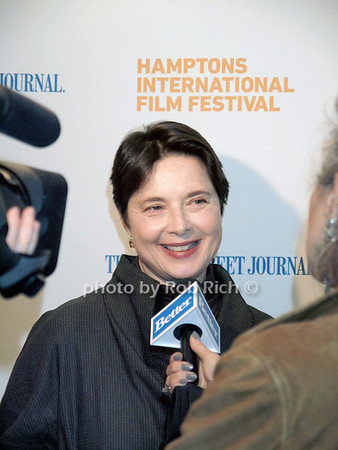"""Isabella Rossellini at the """" Conservation with Isabella Rossellini"""" at the Bay Street Theater during the Hampton Film International Film Festival in Sag Harbor on October 9, 2010. photo by Rob Rich/SocietyAllure.com"""