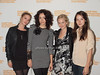 Pihla Viitala,Zrinka Cvitesic,Brittany  Robertson, Anais Demoustier at the HIFF Breakthrough Performers Brunch reception at Nick and Tony's in East Hampton on October 10, 2010.<br /> photo by Rob Rich/SocietyAllure.com