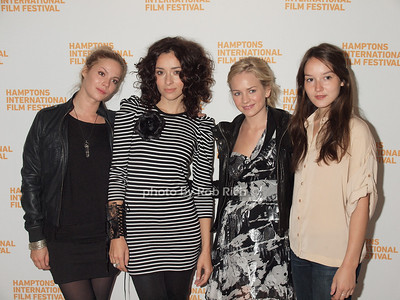 Pihla Viitala,Zrinka Cvitesic,Brittany  Robertson, Anais Demoustier at the HIFF Breakthrough Performers Brunch reception at Nick and Tony's in East Hampton on October 10, 2010. photo by Rob Rich/SocietyAllure.com
