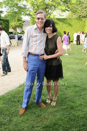 Steve Tanger, Sydney Oliver<br /> photo by Rob Rich © 2010 robwayne1@aol.com 516-676-3939