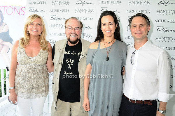 Debra Halpert, James Lipton, Haley Binn, Jason Binn