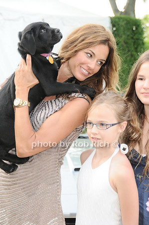Chief (dog), Kelly Bensimon, Teddy Bensimon<br /> photo by Rob Rich © 2010 robwayne1@aol.com 516-676-3939