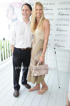 Jason Binn, Beth Ostrosky Stern<br /> photo by Rob Rich © 2010 robwayne1@aol.com 516-676-3939