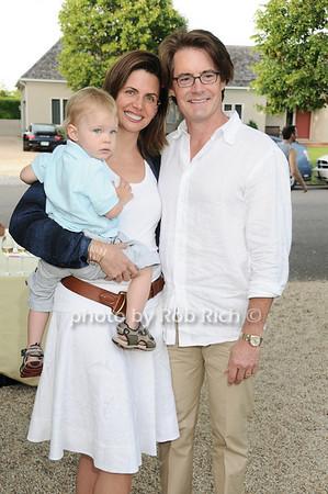 Callum MacLachlan , Desiree Gruber, Kyle MacLachlan<br /> photo by Rob Rich © 2010 robwayne1@aol.com 516-676-3939