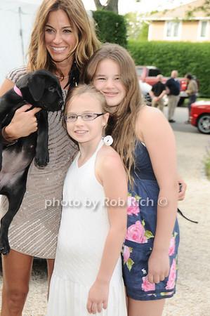 Chief (dog), Kelly Bensimon, Teddy Bensimon, Sea Bensimon <br /> photo by Rob Rich © 2010 robwayne1@aol.com 516-676-3939