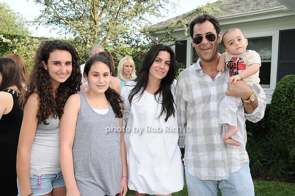 Jessica Rome, Skylar Rome, Vanessa Rome, Todd Rome, Griffin Rome (baby)<br /> photo by Rob Rich © 2010 robwayne1@aol.com 516-676-3939