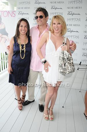 Samantha Yanks, Mario Singer, Ramona Singer<br /> photo by Rob Rich © 2010 robwayne1@aol.com 516-676-3939