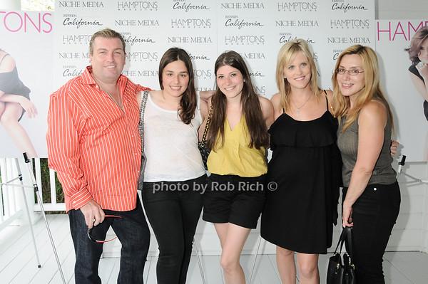 1.Matthew Johnson, Jenny Lenz, Abby Denburg, Tricia Johnson, Dolly Lenz<br /> photo by Rob Rich © 2010 robwayne1@aol.com 516-676-3939