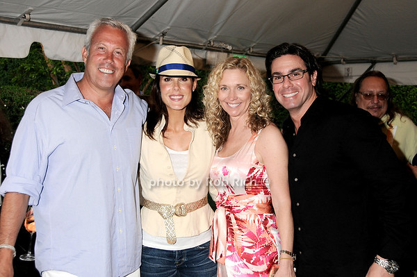 Paul Fried, Rachel Thompson, Terri Speiser, Ira Mofsowitz<br /> photo by Rob Rich © 2010 robwayne1@aol.com 516-676-3939