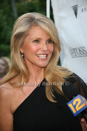 Christie Brinkley<br /> at  the Motown Live at Club Starlight w/Julie Andrews at the Ross School  in East Hampton on June 19, 2010. <br /> photo by Jake for Rob Rich © 2010 robwayne1@aol.com 516-676-3939