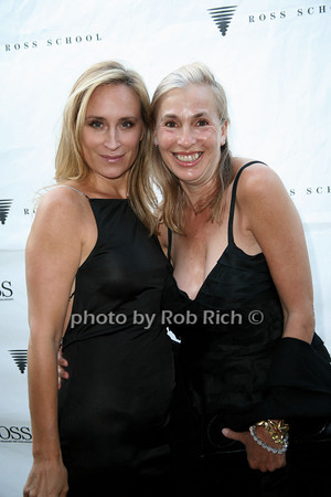 Sonja Morgan, Robin Baker Leacock<br /> at  the Motown Live at Club Starlight w/Julie Andrews at the Ross School  in East Hampton on June 19, 2010. <br /> photo by Jake for Rob Rich © 2010 robwayne1@aol.com 516-676-3939