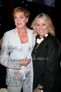 Julie Andrews, Courtney Ross  at  the Motown Live at Club Starlight w/Julie Andrews at the Ross School  in East Hampton on June 19, 2010.  photo by Jake for Rob Rich © 2010 robwayne1@aol.com 516-676-3939
