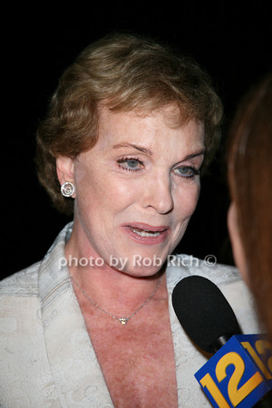 Julie Andrews <br /> at  the Motown Live at Club Starlight w/Julie Andrews at the Ross School  in East Hampton on June 19, 2010. <br /> photo by Jake for Rob Rich © 2010 robwayne1@aol.com 516-676-3939