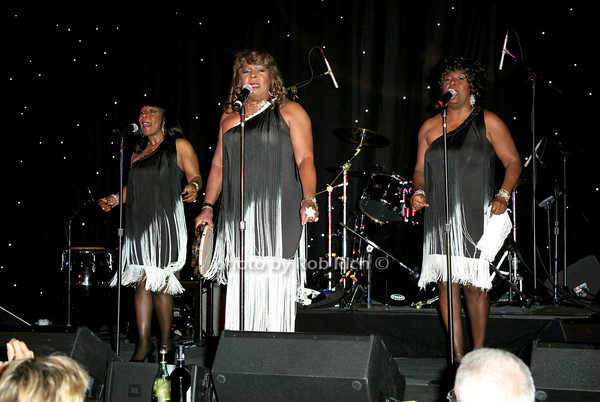 Martha Reeves and the Vandellas<br /> at  the Motown Live at Club Starlight w/Julie Andrews at the Ross School  in East Hampton on June 19, 2010.