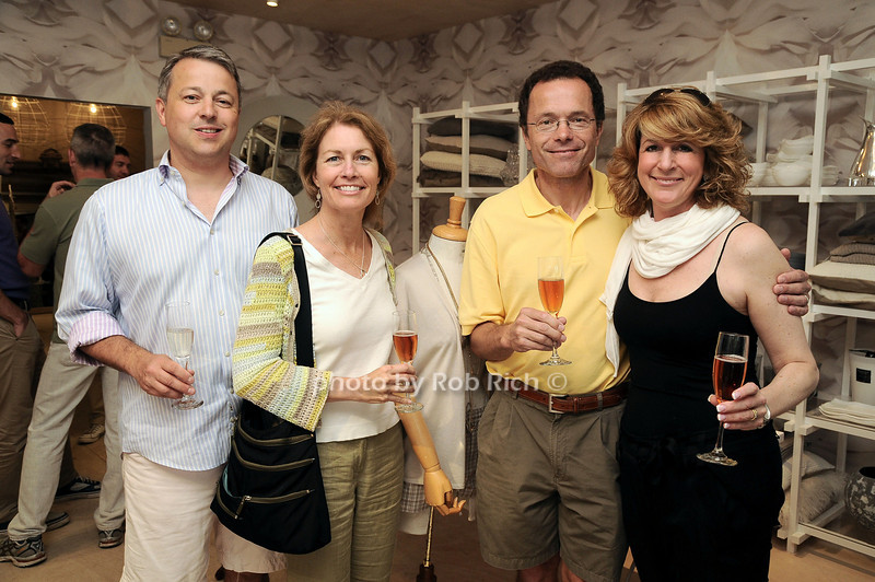 Nick Erni, Lori Soderholm, Urs , Anne Erni<br /> photo by Rob Rich/SocietyAllure.com © 2010 robwayne1@aol.com 516-676-3939