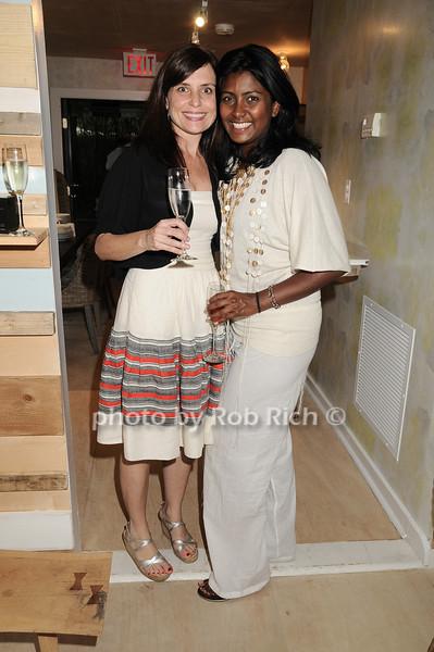 Sarah Barlow, Deena Kahn<br /> photo by Rob Rich/SocietyAllure.com © 2010 robwayne1@aol.com 516-676-3939