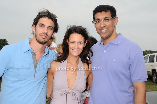 Anthony Pinto, Penny Mosgrove, Derrick Pinto<br /> photo by Rob Rich © 2010 robwayne1@aol.com 516-676-3939