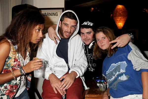 DJ Vibe and friends<br /> photo by Rob Rich © 2010 robwayne1@aol.com 516-676-3939