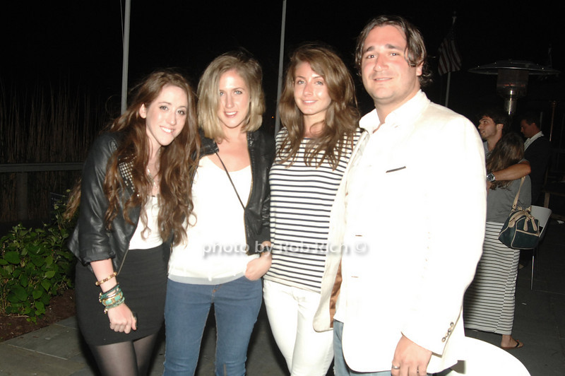 Rachel Siegel, Michelle Halberp, Courtney Peterson and Sergio Decordova