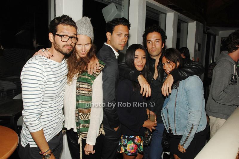 Bryan Sensebe, Evelien Joos, Steven Rojas, May Kwo, Fererico Saenz and Alex Weiss