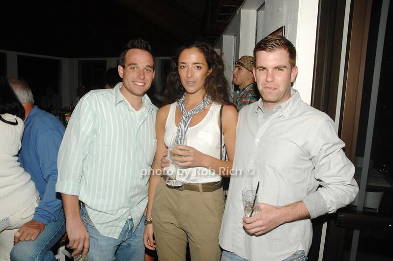 Matt O'Grady, Julianne Brogan and Patrick Doran