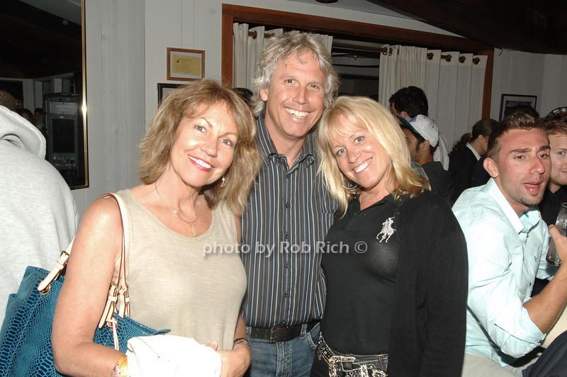 Chris Perate, Samula Liviero and Mary Jo Pojawis