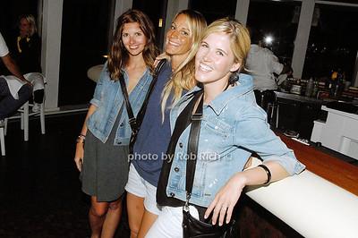 Kelly Etseoli, Catherine Temple and Sarah Burke