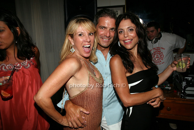 Ramona Singer, Mario Singer, Bethenny Frankel
