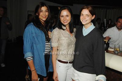 Kamaryn Potter, Daria Gredysa and Amanda Shine
