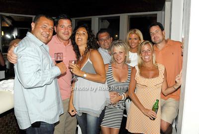 Dominick Marinelli, Todd Cirella, Marie Marinelli, Anthony Valente, Andrea Valente, Kim Suth, Michelle Cirella and Rich Suth