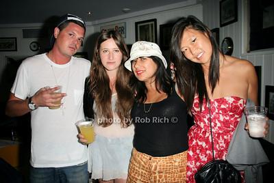 Justin Dent, Olivia Malone, Marina Garcia, Christtine Kin photo by Jakes for Rob Rich © 2010 robwayne1@aol.com 516-676-3939