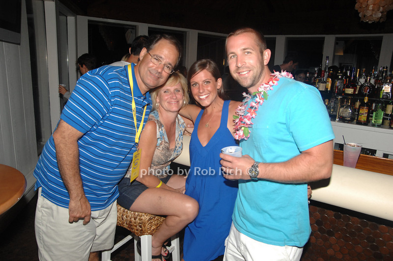 Vic Russo, Barbara Russo, Mary Russo and Mat McMullen