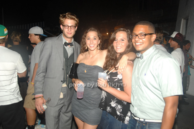 Brandon Louro, Nicole Gaviola, Kristina Wright and Robert Williams